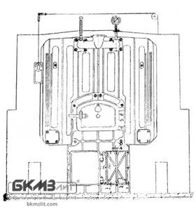 Чугунный котел Универсал 5М (30 средних секций)