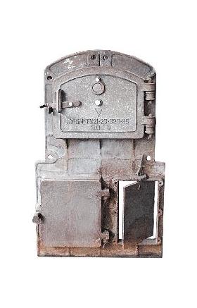 Плита фронтовая в сборе для котла Универсал 5М