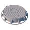 Люк чугунный тяжелый Т (С250)-2-60 с запорным устройством