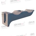 Консоль чугунная кабельная ККЧ-2 двухместная