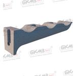 Консоль чугунная кабельная ККЧ-3 трехместная