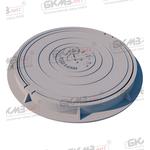 Люк чугунный легкий Л (А15)-2-60 c запорным устройством