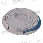 Люк чугунный легкий усиленный ЛУ (А30)-2-60 c запорным устройством