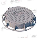 Люк чугунный тяжелый Т (С250)-2-60 (870x120) с запорным устройством