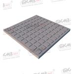 Плитка чугунная квадратная ПП-400 облегченная