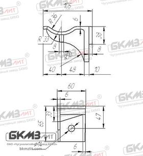 Консоль чугунная кабельная ККЧ-1 одноместная