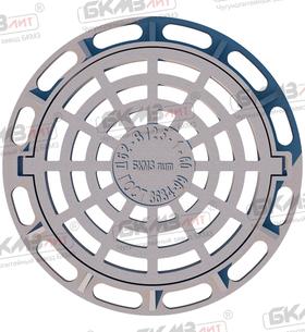 Дождеприемник чугунный большой круглый ДБ2 (В125)-1-60 (ДК2)