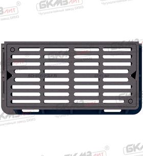 Дождеприемник чугунный усиленный ДУ2 (Д400)-2-36x78 (120) ВЧШГ