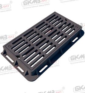 Дождеприемник чугунный усиленный ДУ2 (Д400)-2-13-36x78 (120) ВЧШГ с запорным устройством