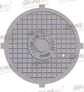 Крышка люка чугунного магистрального ТМ (Д400)-1-60