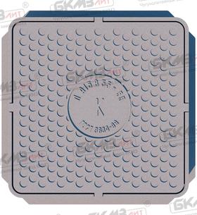 Люк чугунный легкий Л (А15)-8-55x55-01