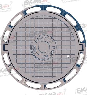 Люк чугунный ТМР (С250)-2-60 с запорным устройством