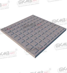 Плитка чугунная квадратная ПП-400