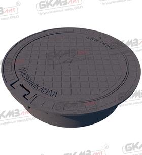 Люк чугунный плавающий магистральный ТМ (Д400)-7-9-60 (140) ВЧШГ с шарниром