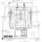 Чугунный котел Универсал 5М (14 средних секций)